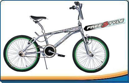 Comprar Bicicleta Freestyle Cromada