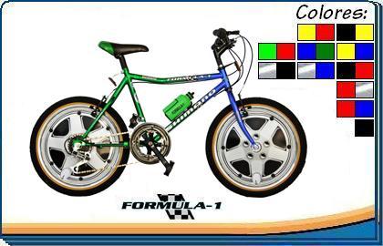 Comprar Bicicleta Formula 1 20