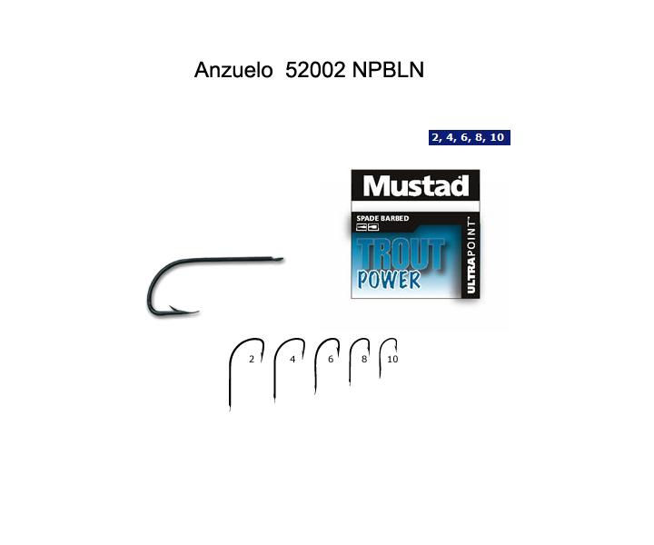 Comprar Anzuelo Mustad 52002 NPBLN Cristal Sode