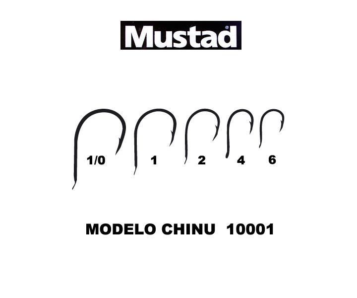Comprar Anzuelo Mustad CHINU 10001