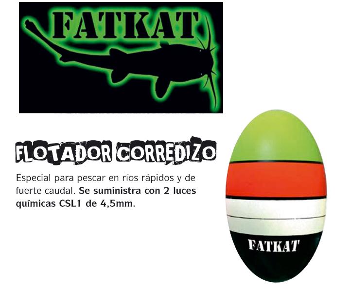 Comprar Flotador Corredizo de Siluro FATKAT