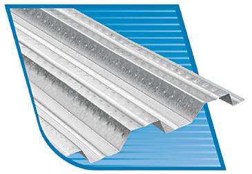 Comprar Entrepiso metálico de acero galvanizado GalvaDeck