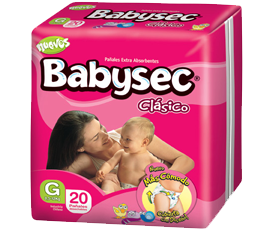 Comprar Pañales Babysec Clásico