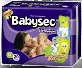 Comprar Pañales Babysec Premium