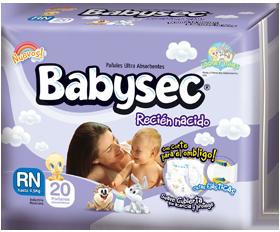 Comprar Pañales Babysec Recién Nacido
