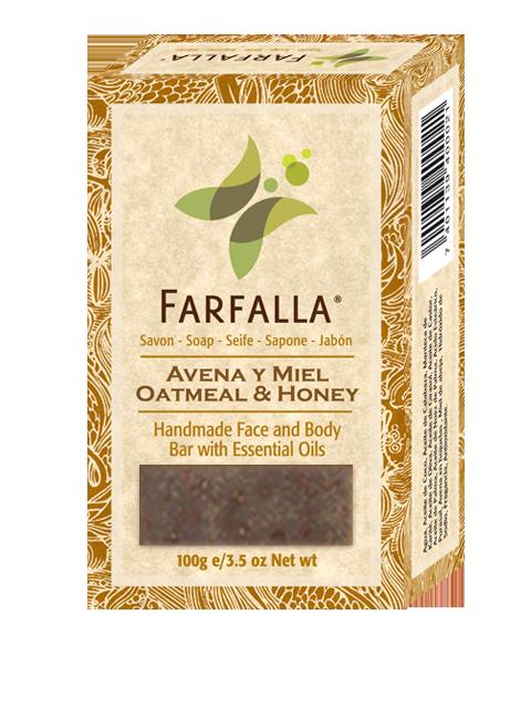 Comprar Jabón de Avena y Miel Farfalla