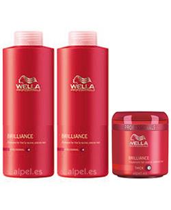 Comprar Pack wella care brillance fino/normal xl