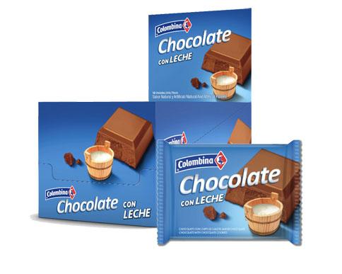 Comprar Tableta De Chocolate Con Leche