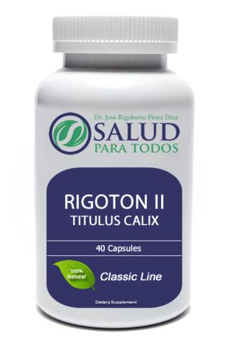 Comprar Aditivo alimentario Rigoton II Titulus Calix
