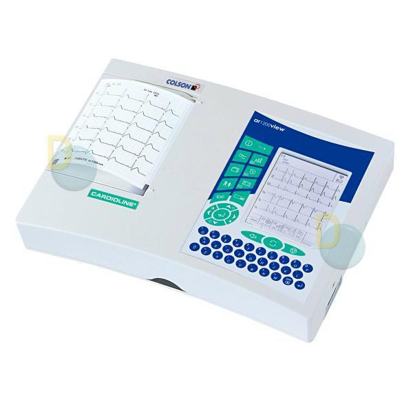 Comprar Electrocardiogrado digital de 12 canales CARDIOLINE AR1200