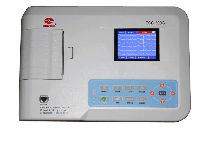Comprar Electrocardiografo digital de 3 canales, Serie ECG 300G