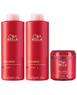 Comprar Pack wella care brillance fino/normal xl