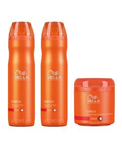 Comprar Pack wella care enrich fino/normal