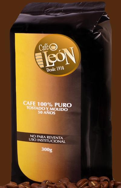 Comprar Café León Dorado (empaque Institucional)