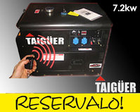 Comprar Generador Insonorizado 7,2Kw con RC