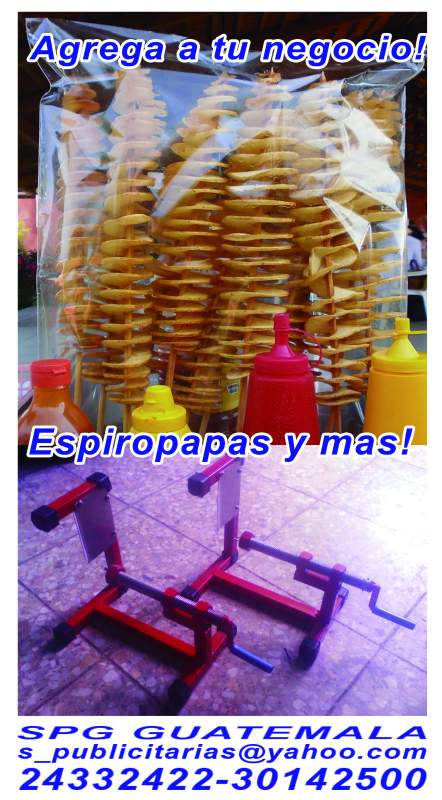 Comprar Espiropapas