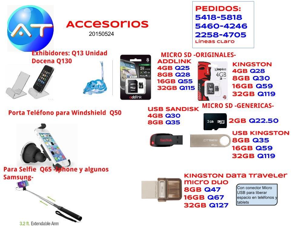 Comprar Accesorios para telefonos