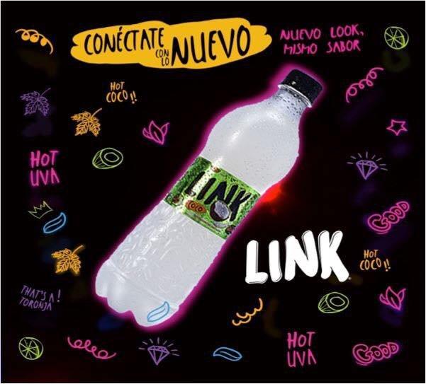 Comprar Aguas gaseosas LINK de Guatemala, sabor agua de coco, en Comprabien