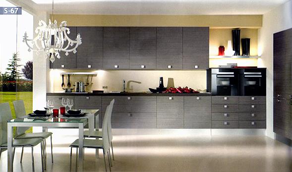 Muebles Cocina Modernos. Great Mueble De Cocina Naranja Con Blanco ...