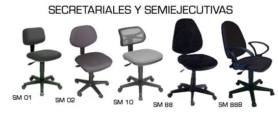 Sillas secretariales comprar en Mixco