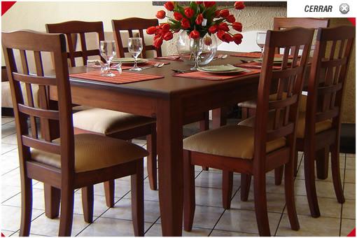 Muebles de comedor de madera comprar en Guatemala