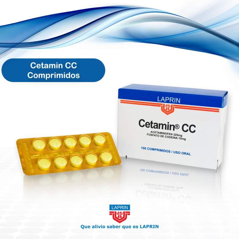 Comprar Analgésico Cetamin CC