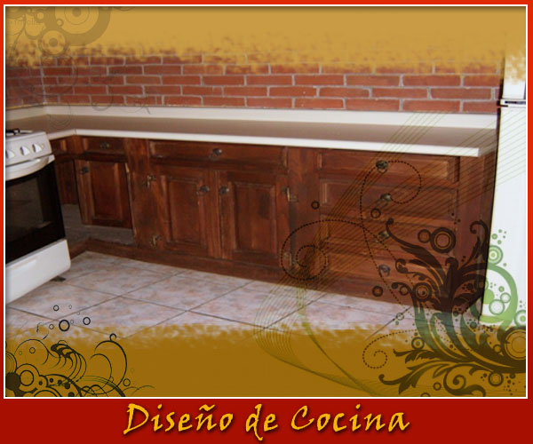 Muebles de cocina de madera — Comprar Muebles de cocina de ...