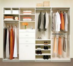 Closet de color blanco