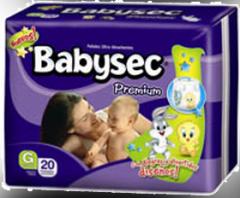 Pañales Babysec Premium