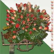 Arreglo Carreta de Rosas