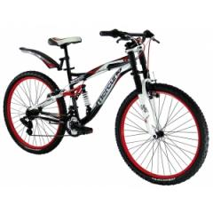 Bicicleta MERCURIO KAIZER DOWN HILL R.26 DOBLE SUSPENSION