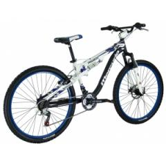 Bicicleta MERCURIO R.26 PITBULL DOBLE SUSPENSION ALUMINIO