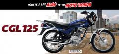 Motocicleta cgl 125
