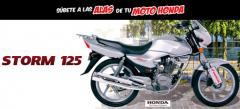 Motocicleta cgr 125 storm