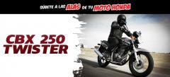 Motocicleta cbx 250 twister