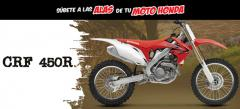 Motocicleta crf 450 r