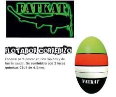 Flotador Corredizo de Siluro FATKAT