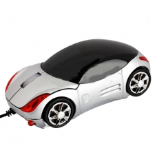 Mouse Carro Deportivo gris
