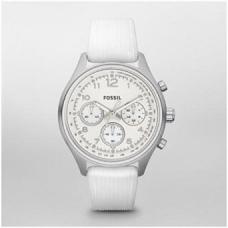 Reloj Fossil blanco mujer