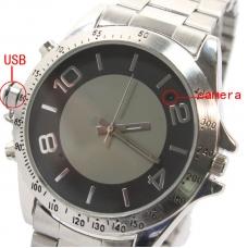 Reloj Espia 4gb Pulsera de Metal