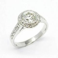 Anillo diamante Maya