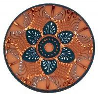 Plato Decorativo Listado 150-22