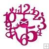 Reloj Pi: p Color Frambuesa