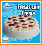 Tárta Fresas Con Crema