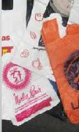 Bolsas Tipo Camiseta