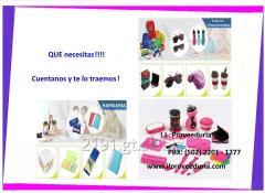 Material publicitario, Mobiliario y equipo medico