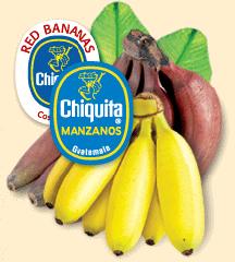 Chiquita Manzanos Bananas