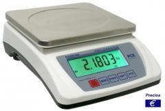 Báscula de cocina electrónica PCE-BSH 6000