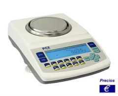 Báscula analítica verificable de la serie PCE-LS