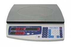 Báscula con contador verificable PCE-CBS 15